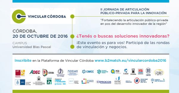 Vincular Córdoba 2016 convoca al empresariado local a rondas de negocios y vinculación