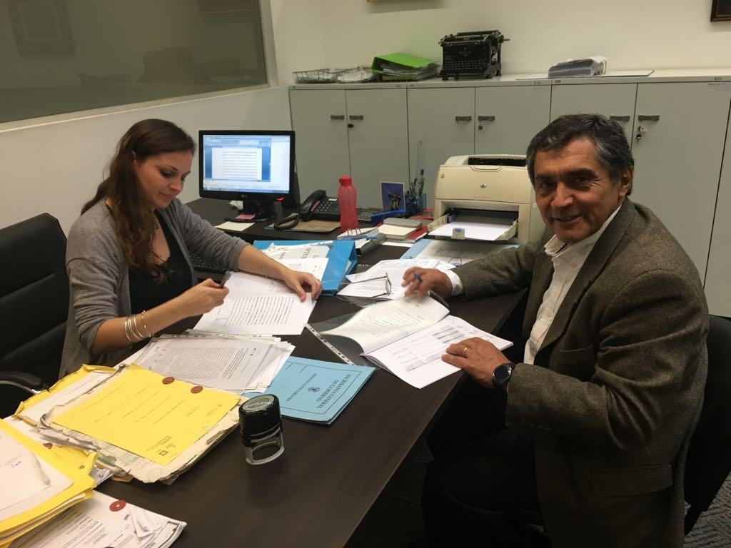 Acuerdo con FONARSEC para llevar adelante la EBT CEPROMAT