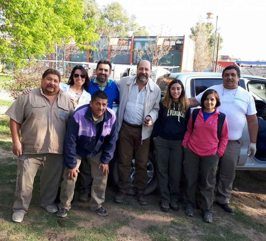 Recuperando el monte nativo: actividad de reforestación en Cosquín