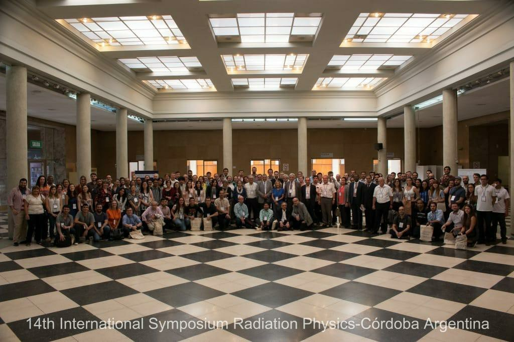 14 INTERNATIONAL SYMPOSIUM ON RADIATION PHYSICS,  Córdoba, 7-11 de octubre, lo que dejó en ciencia y esperanzas.