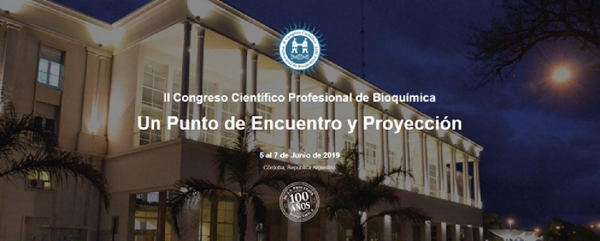 II Congreso Científico Profesional de Bioquímica – Córdoba
